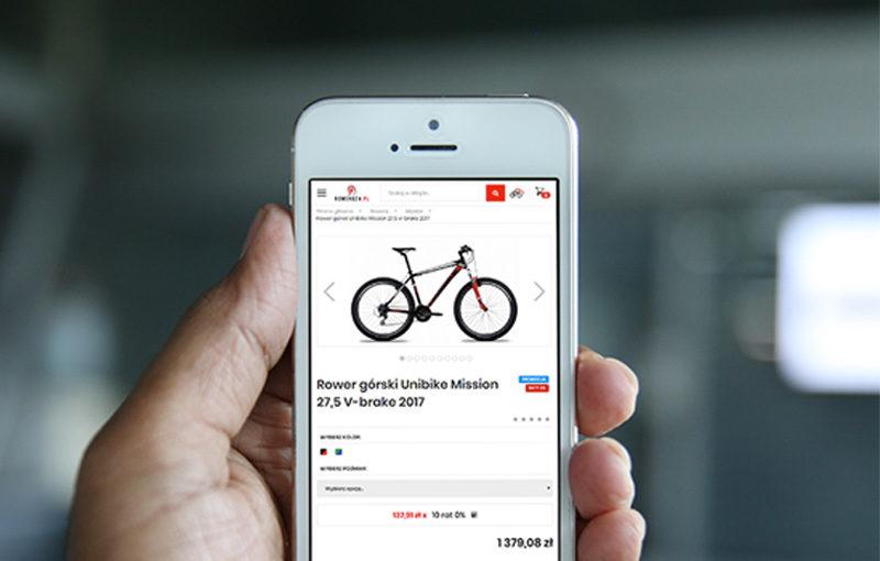 roweroza.pl smartphone