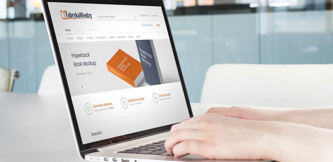 Fabryka Wiedzy - online bookshop on Magento 2