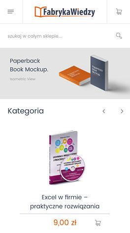Fabryka Wiedzy platform Magento - smartphone