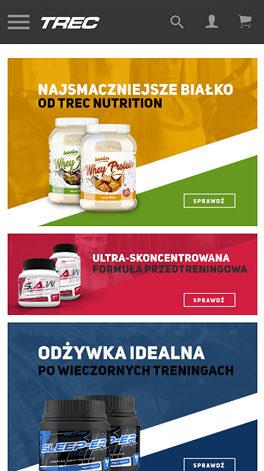 Trec Nutrition - smartphone